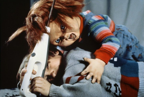 Andy Barclay wallpaper titled Chucky an ANdy