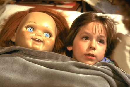 Andy Barclay wallpaper containing a neonate called Chucky an ANdy