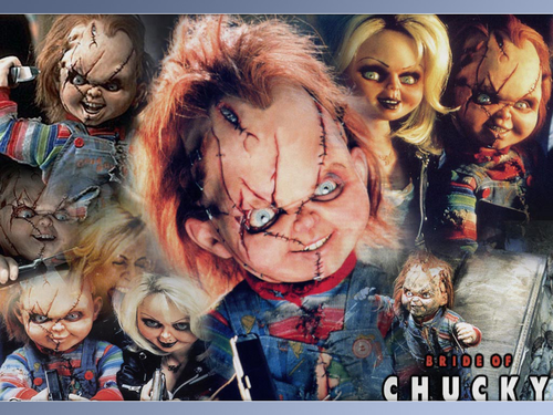 Chucky and Tiffany