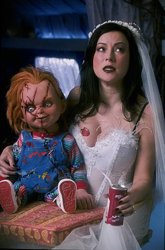 bride of chucky 2 images chucky and tiffany wallpaper and background