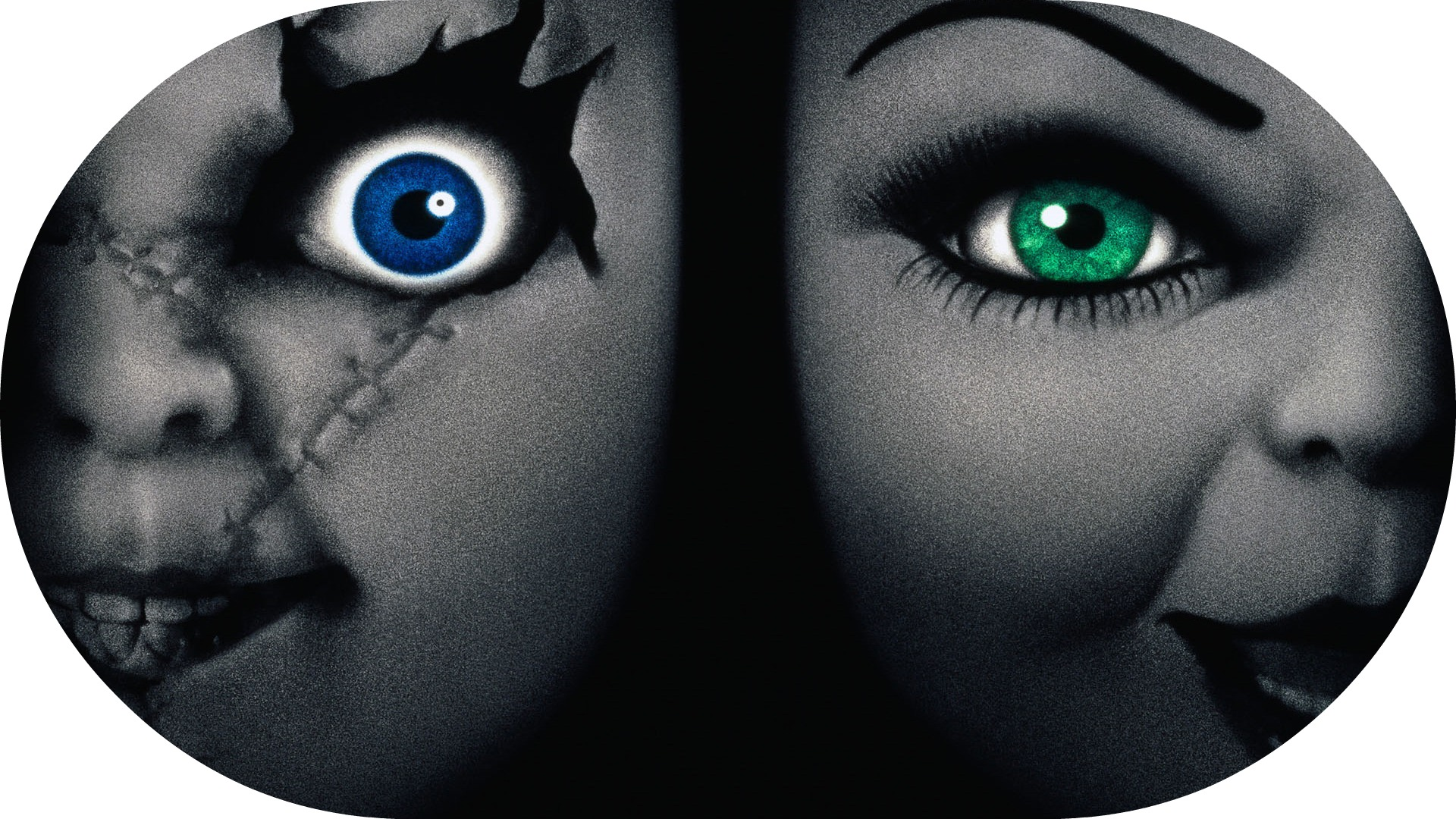 bride of chucky 2 images Chucky and Tiffany HD wallpaper ...