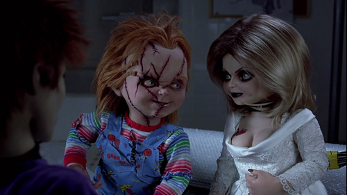 Chucky and his 愛