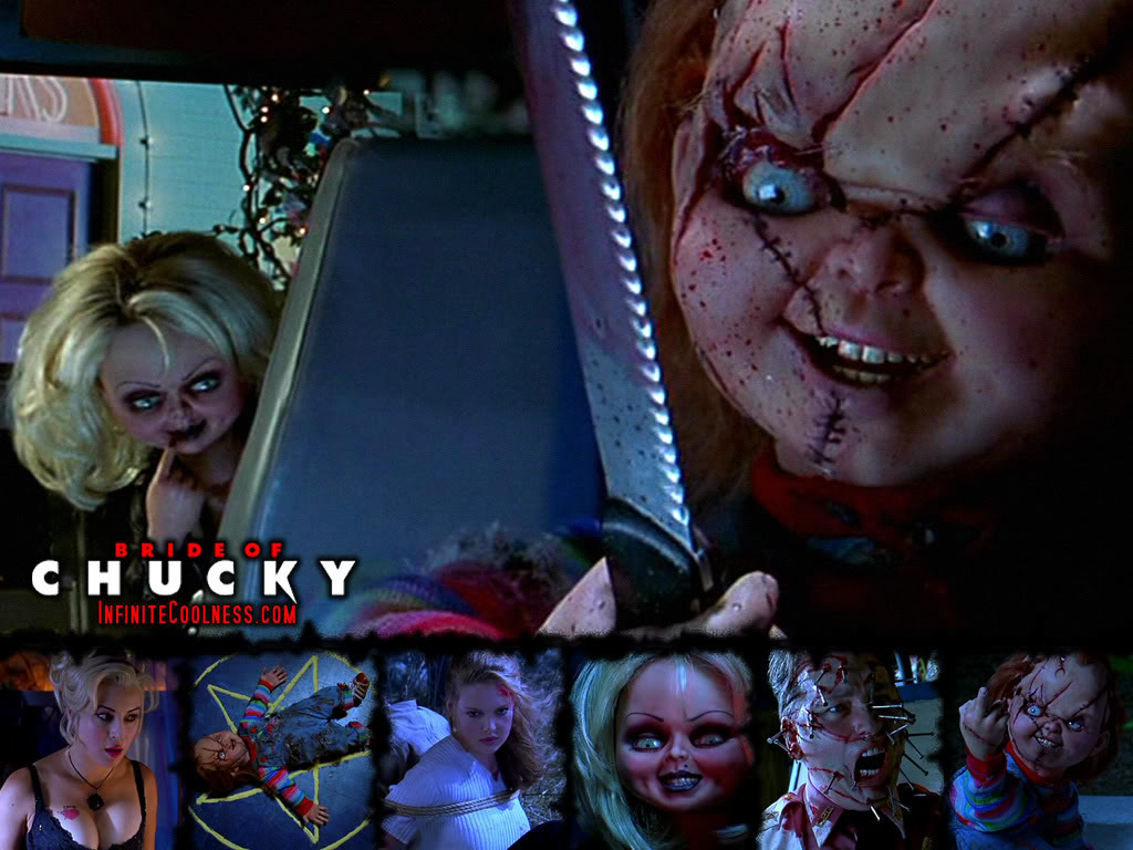 bride of chucky 2 images Chucky and his love HD wallpaper ...