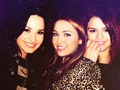 Demi, Miley & Selena! 3 disney Princesses 100% Real ♥