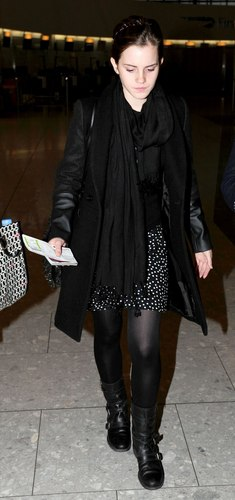 Departing from Heathrow Airport(september 26)