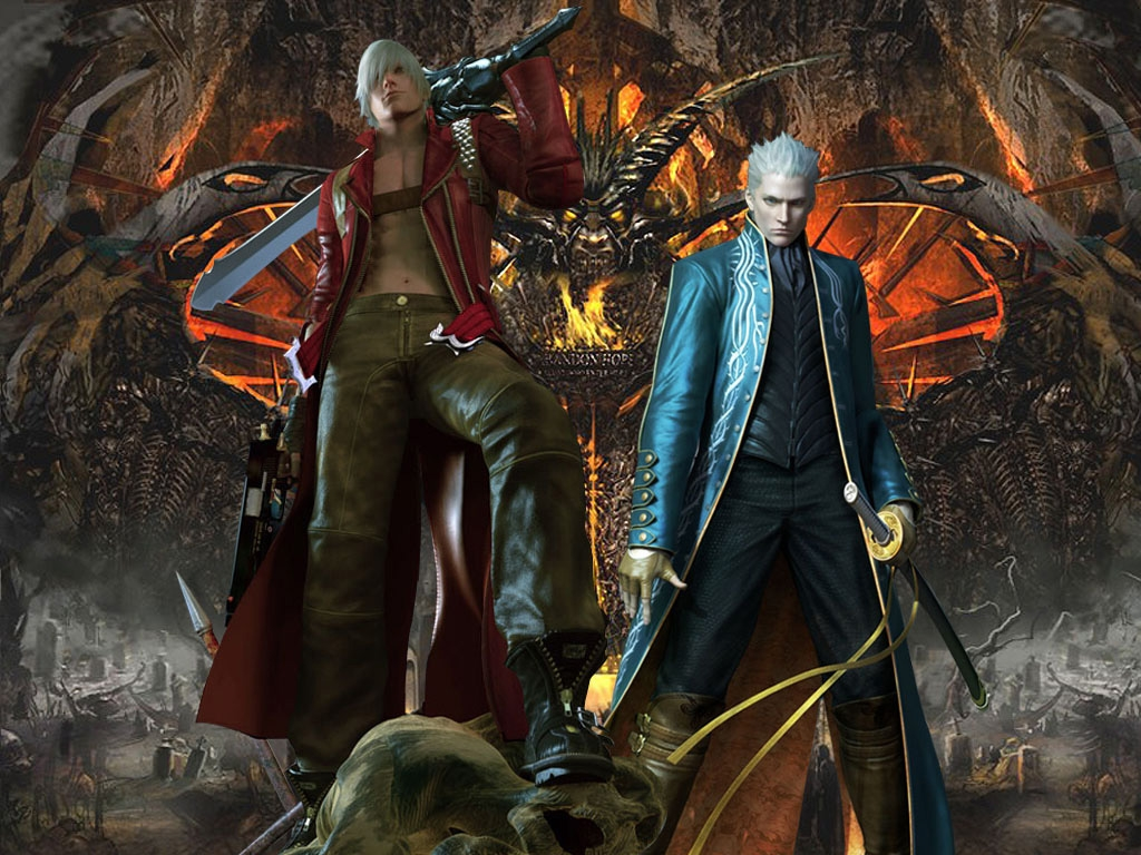 Devil May Cry 3 Devil May Cry 3 Wallpaper 25678223 Fanpop