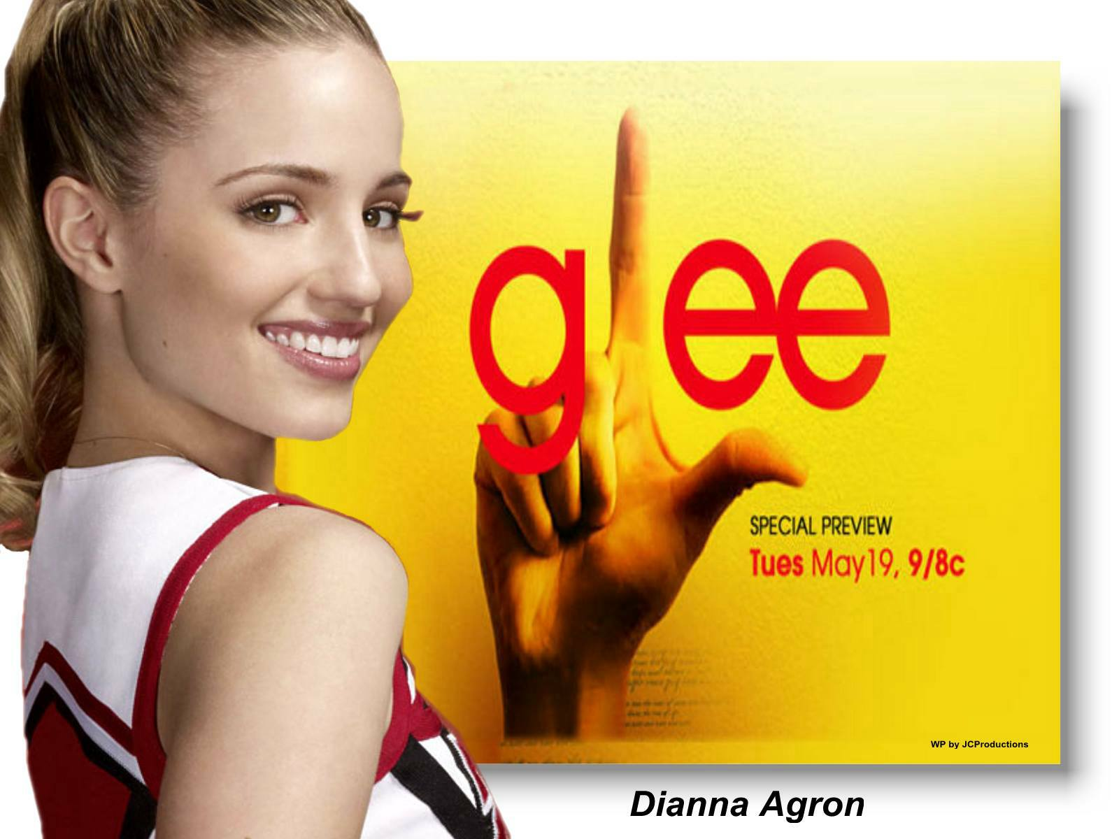The Glee Girls images Dianna Agron of Glee HD wallpaper and