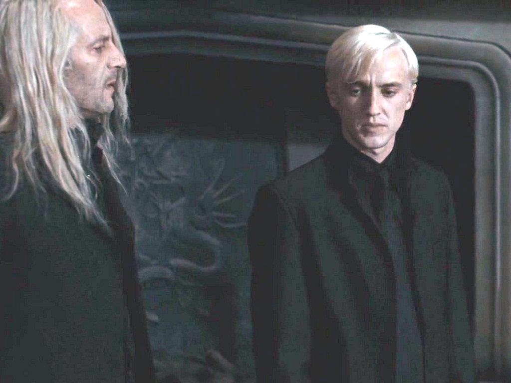 Draco Malfoy achtergrond
