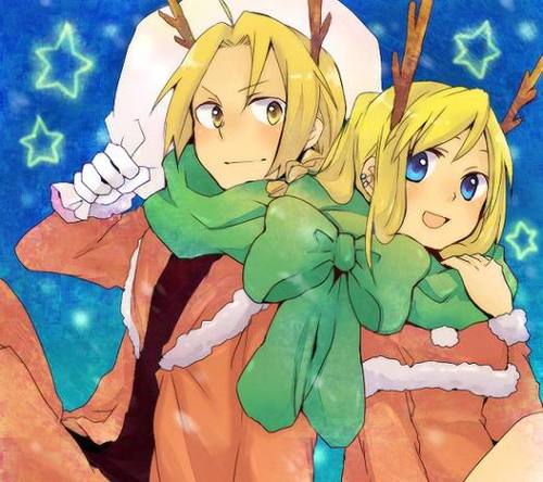 Edward Elric and Winry Rockbell Hintergrund containing Anime called EdWin