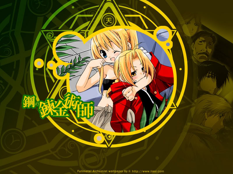 EdWin - Edward Elric and Winry Rockbell Wallpaper (25658183) - Fanpop