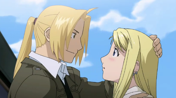 Edward and Winry Final Scene