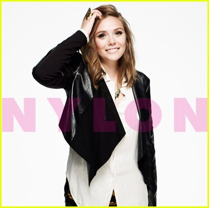 Elizabeth Olsen: Nylon's October Cover Girl!