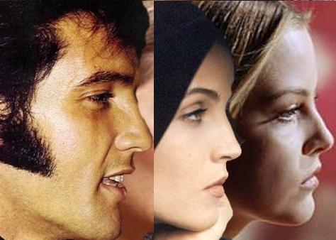 Elvis,Lisa & Riley