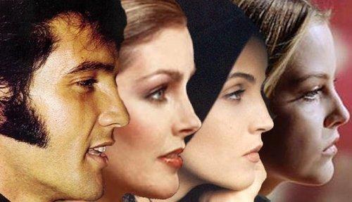 Elvis,Priscilla,Lisa & Riley