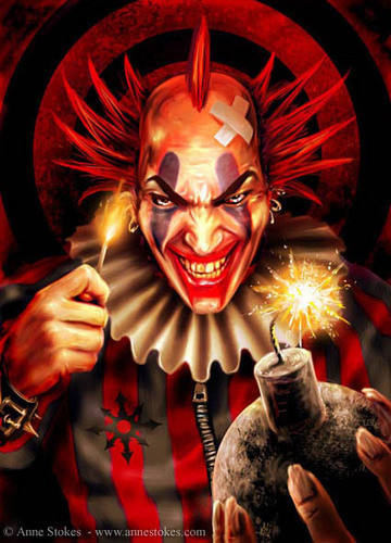 Anne Stokes Images Evil Clown Wallpaper And Background Photos 25669662