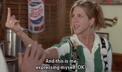 Expressing myself