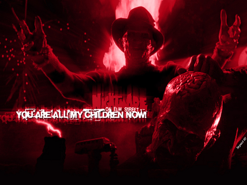 Horror legends wallpaper probably containing a api and a api titled Freddy Krueger