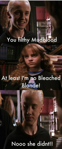 Funny Malfoy and Hermione
