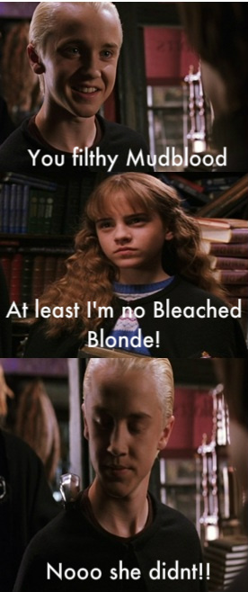 Funny Harry Potter And Hermione Memes : Funny malfoy harry potter vs twilight photo