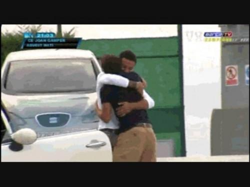 Gerard Piqué sexy men embrace !!!!