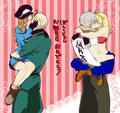Germany x fem! Italy and Russia x fem! America - hetalia-couples photo