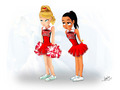 Glee Brittana Fan Art