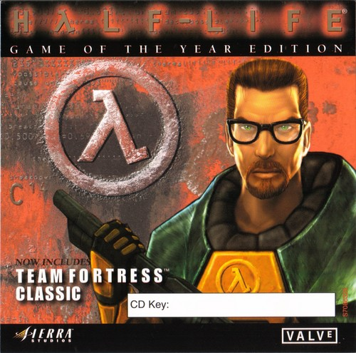 Gordon Freeman on Half-Life (1) CD cover