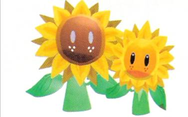 Great Sunflower & Sunflower Kid