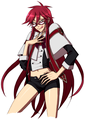 Grell is cute!!