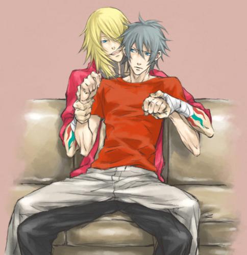 Gunji and Akira