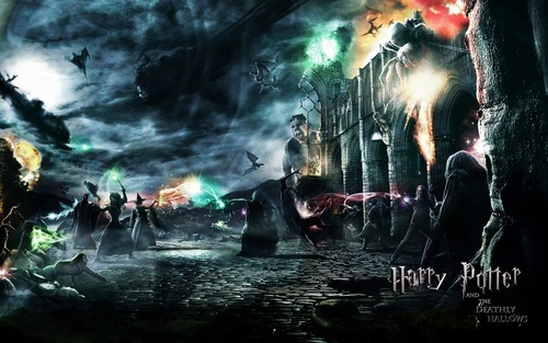 harry potter wallpaper containing a fire, a fountain, and a fogo called Harry Potter wallpaper