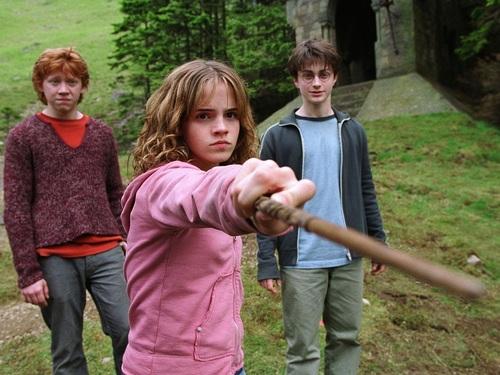Harry, Ron and Hermione fondo de pantalla