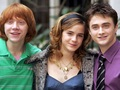 Harry, Ron and Hermione वॉलपेपर