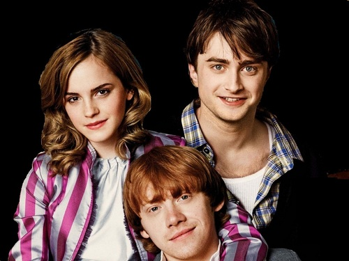 Harry, Ron and Hermione images Harry, Ron and Hermione Wallpaper HD wallpaper and background photos