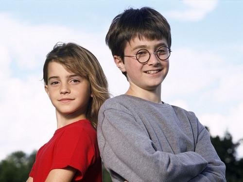 Harry and Hermione karatasi la kupamba ukuta