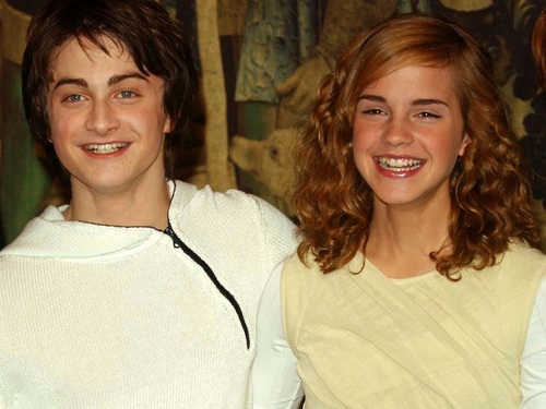Harry and Hermione वॉलपेपर