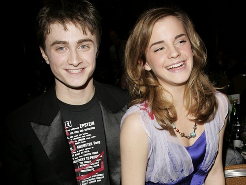 Harry and Hermione wallpaper