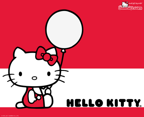 Hello Kitty fondo de pantalla