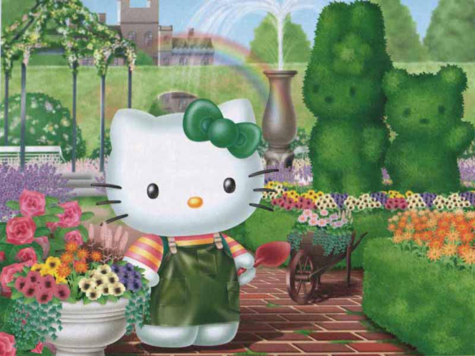 hello kitty hello kitty wallpaper 25604890 fanpop. Black Bedroom Furniture Sets. Home Design Ideas
