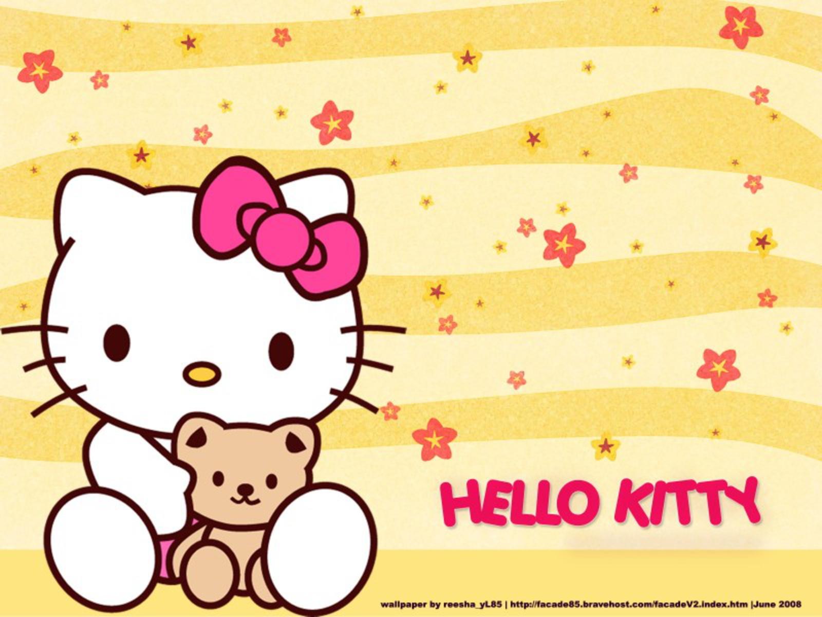 hello kitty hello kitty wallpaper 25605432 fanpop. Black Bedroom Furniture Sets. Home Design Ideas