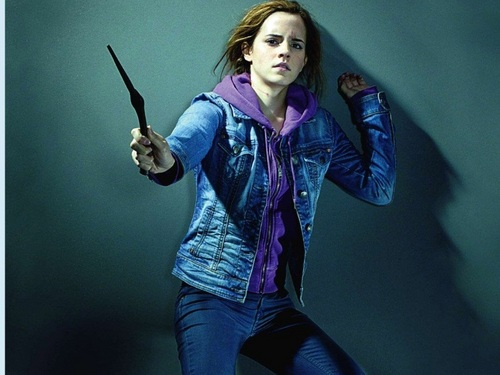 hermione granger wallpaper possibly with long trousers, a spatula, and an outerwear entitled Hermione Granger wallpaper