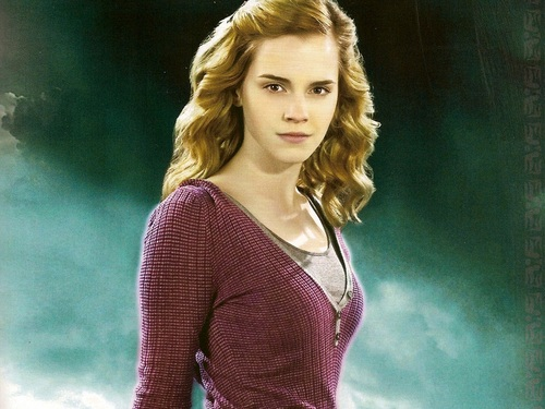 Hermione Granger hình nền probably containing a pullover entitled Hermione Granger hình nền