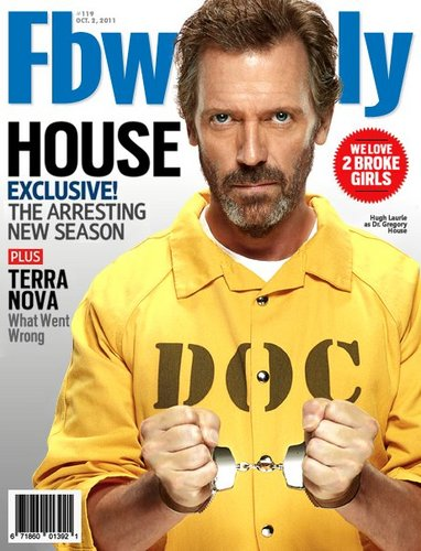 Hugh Laurie(house)FB Weekly Magazine- October 2011