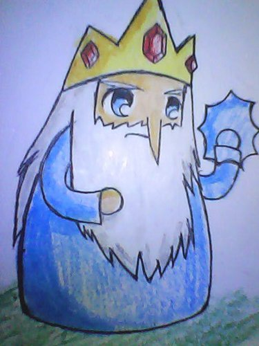 Ice King in Chibi form