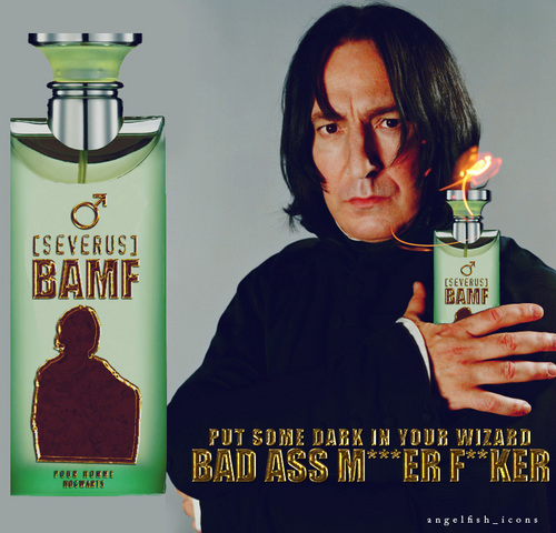 If Snape had an aftershave...