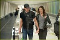 John Krasinski & Emily Blunt Land at LAX - emily-blunt photo