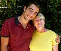 Jon Togo and his mom. - jonathan-togo photo