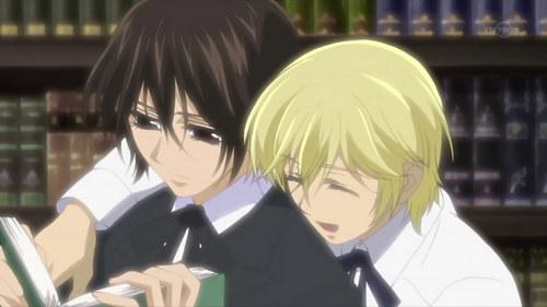 Kaname and Takuma<3