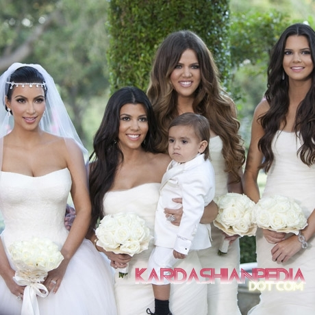 Kendall Jenner Photos on Kendall Jenner Kim Kardashian   Kris Humphries Wedding Photos