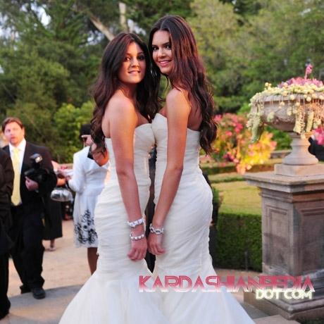 Kim Kardashian Amp Kris Humphries Wedding Photos Kendall